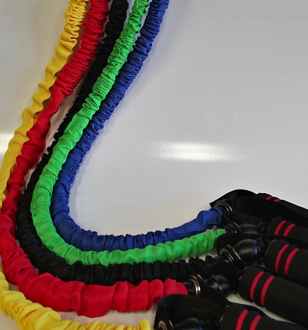 PowerFit Nylon Covered Resistance Bands