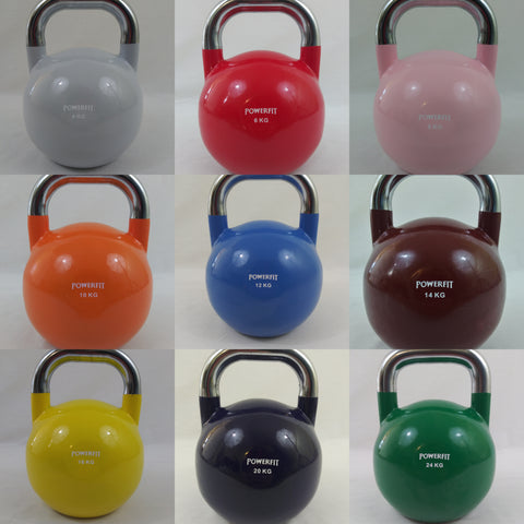 PowerFit Competition Kettlebells