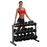Body Solid Three Tier Dumbbell Rack-FREE SHIPPING