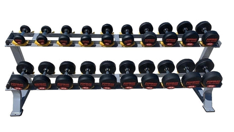 Round Pro Style Dumbbell Set (5lb-100lb)-FREE SHIPPING
