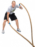 PowerFit Hemp Battling Ropes for Commercial and Home Gyms