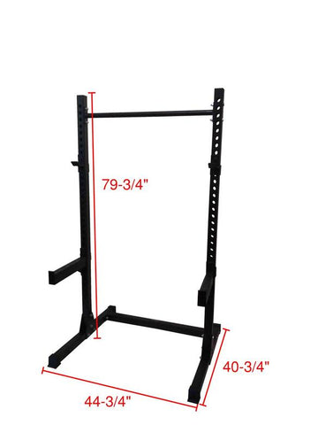PowerFit Half Rack Squat Rack