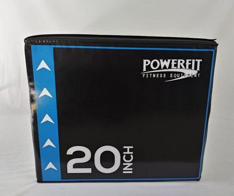 PowerFit 3 in 1 Soft Plyo for Commercial and Home Gyms