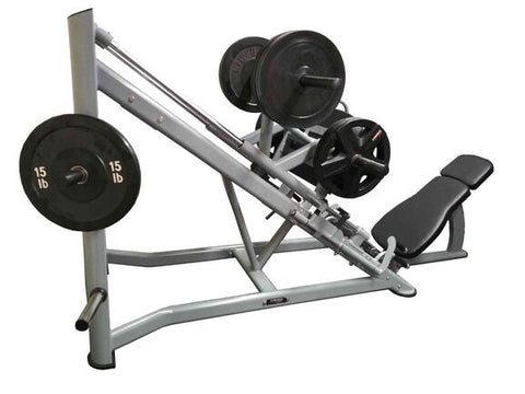 PowerFit 45 Degree Plate Loaded Linear Leg Press Machine