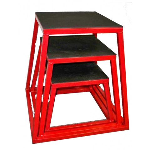 Red Steel Plyo Steps-FREE SHIPPING