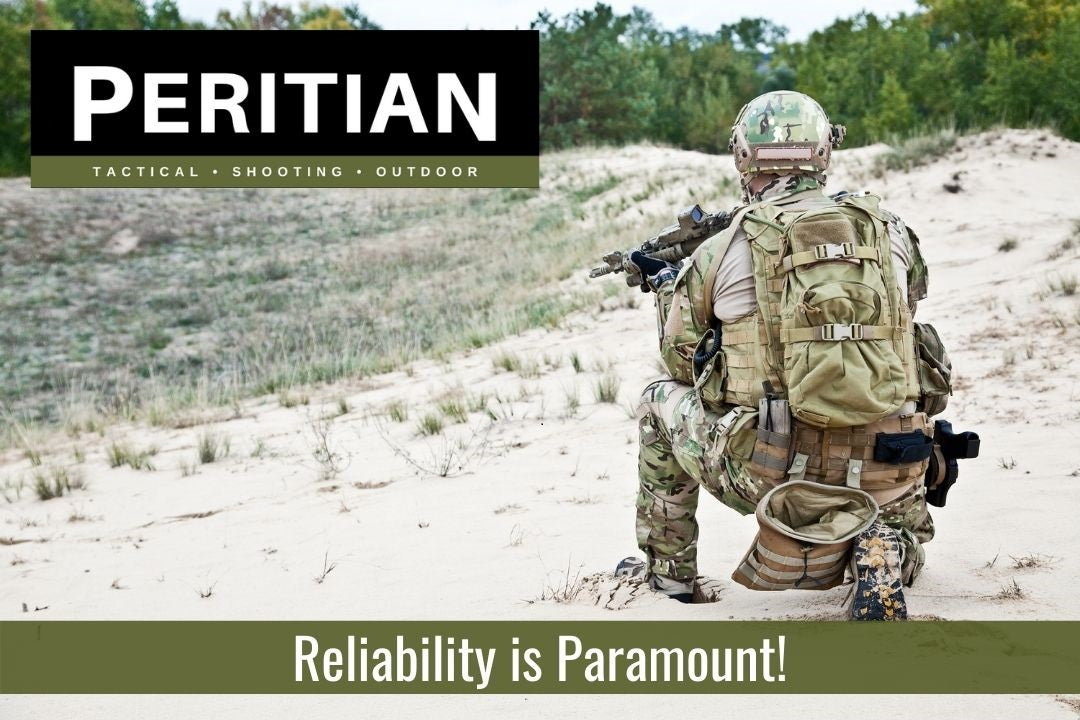 Peritian - soldier with rifle - Reliability is Paramount! width=