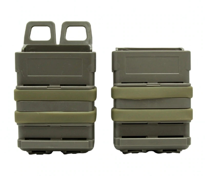 2 Pc Polymer Fitted 5.56 AR-15/M4 Fast Action Magazine Holster Set - Peritian