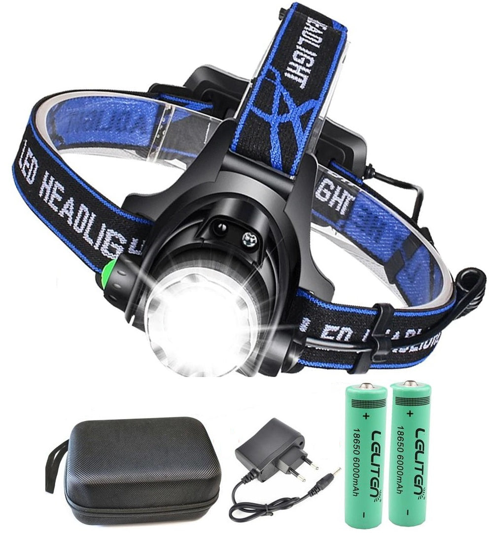 15000LM Rechargeable Headlamp