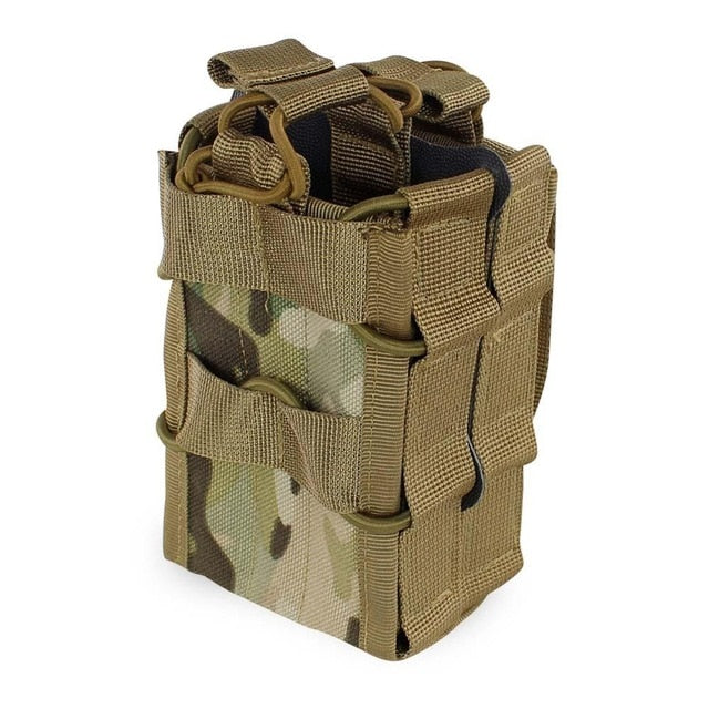 Double Layer Stacked Rifle Magazine Pouch - Peritian