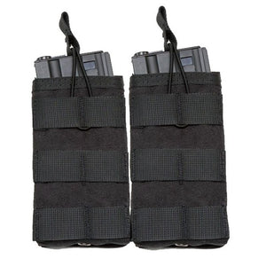 1000D Nylon Single / Double / Triple Magazine Pouch Tactical M4 Military Pouch Molle Paintball Airsoft Magazine Pouch - Peritian