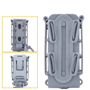 DELAYED Tactical Molle Waist Belt Magazine Pouches 9mm Military Shooting Mag Pouch Outdoor Hunting CS Pistol Rifle Magazine Pouch - Peritian