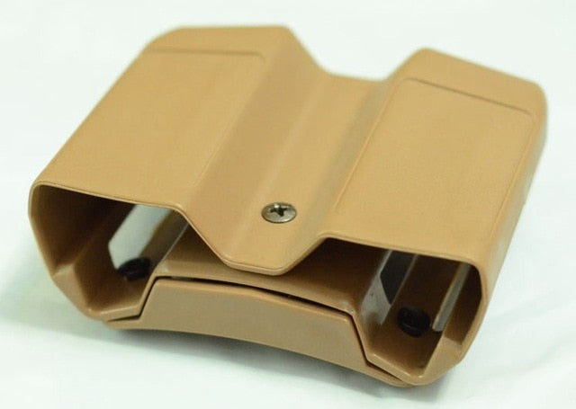 Polymer Universal Double Pistol Magazine Holster - Peritian