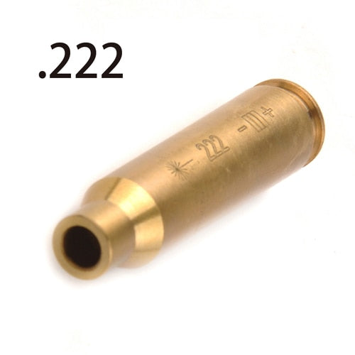 DELAYED soon Red Dot Laser Brass Boresight CAL Cartridge Bore Sighter For Scope Hunting - Peritian