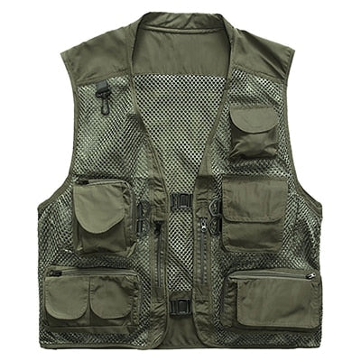 Mesh Tactical Ultralight Utility Vest - Peritian