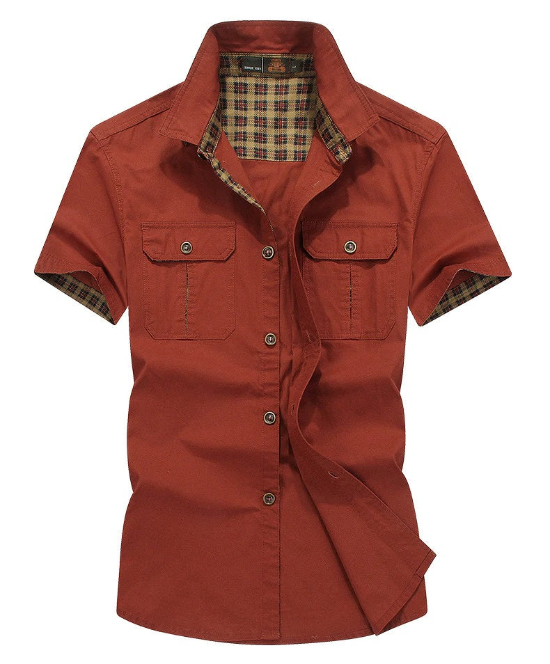 Men's Tactical Safari Shirt - Peritian