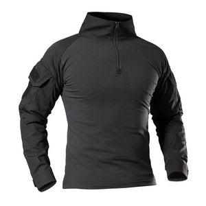 Men's Long Sleeve Tactical Performance Shirt - Peritian