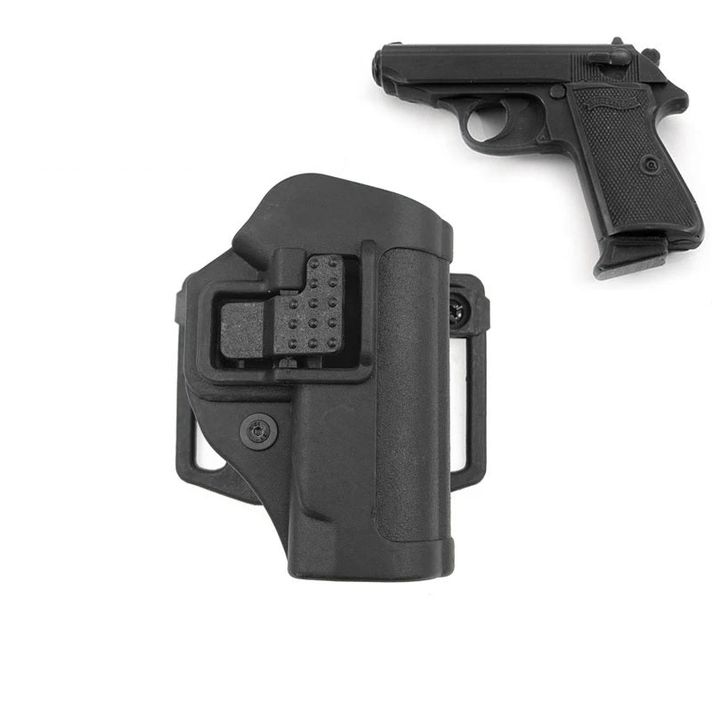 SERPA CQC Tactical Gun Holster for Walther PP/PPK/PPKS - Right Hand