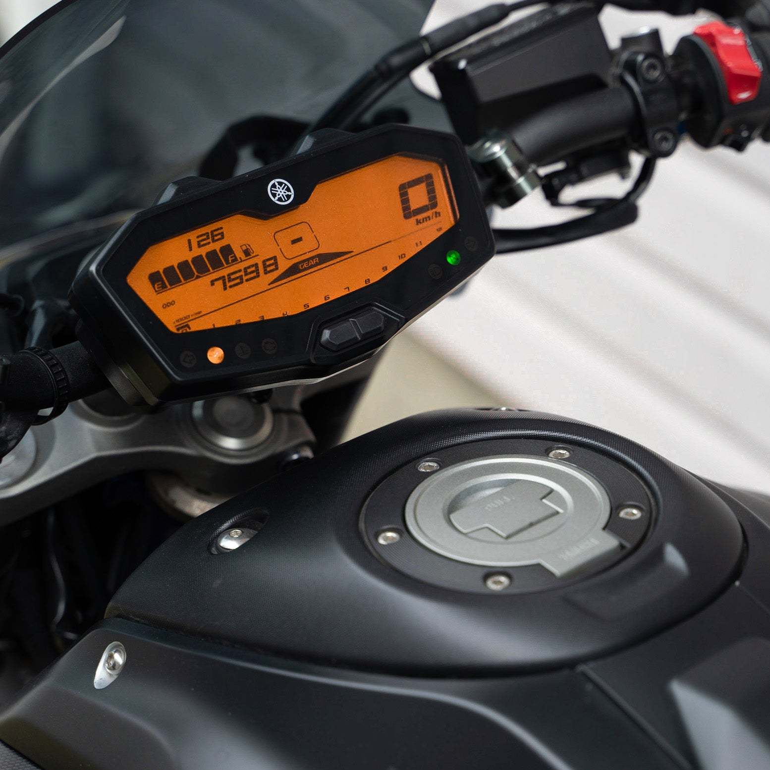 orange dash mod FZ07 MT07