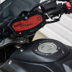 Red dash mod FZ07 MT07