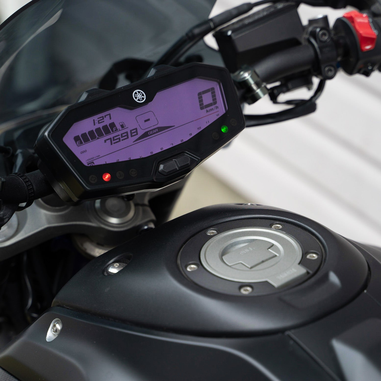 purple dash mod FZ07 MT07