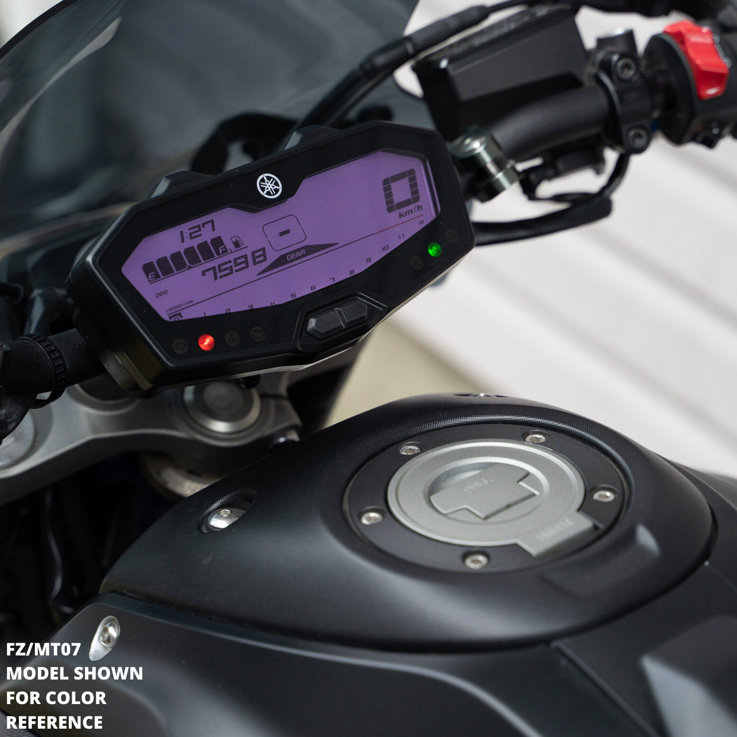 purple dash mod FZ09 MT09