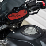 red dash mod FZ09 MT09