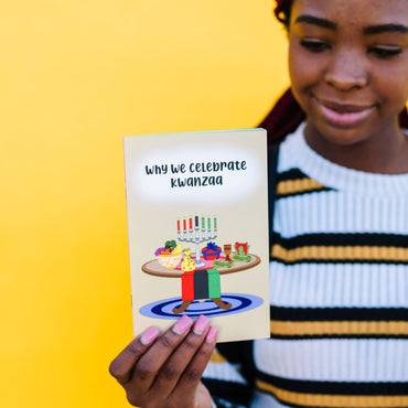 """Why We Celebrate Kwanzaa"" Story Booklet"