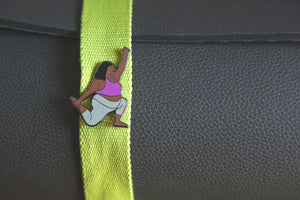 Low Lunge Enamel Pin - Fat Yoga Babe Pin Collection
