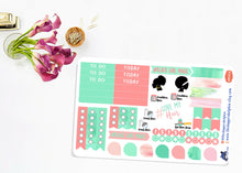 Load image into Gallery viewer, Natural Hair Love Functional Planner Sticker Sheet