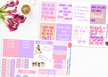 Load image into Gallery viewer, Body Positivity and Body Love Full Box Planner Sticker Set
