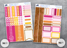 Load image into Gallery viewer, November Thanksgiving Full Planner Sticker Kit