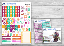 Load image into Gallery viewer, Melanin Pops Photo Full Weekly Planner Sticker Kit for Standard Planners
