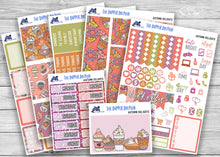 Load image into Gallery viewer, Autumn Delights Full Weekly Planner Sticker Kit for Standard Planners