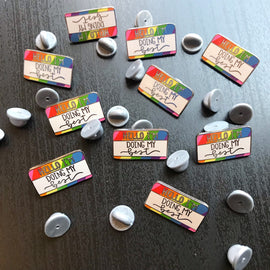 LGBT Gay Pride Rainbow Enamel Pin