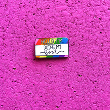 Load image into Gallery viewer, LGBT Gay Pride Rainbow Enamel Pin