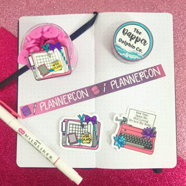 PlannerCon 2020 Planner Accessory Bundle
