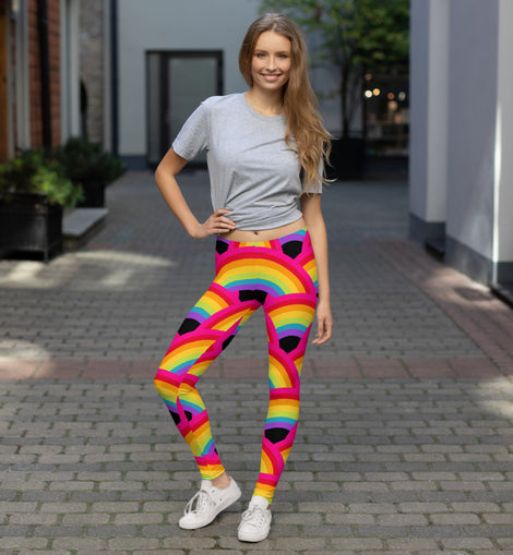 Rainbow Leggings - Straight Size