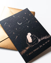 Load image into Gallery viewer, Dreamy Moons - Stargazing Greeting Card