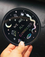Load image into Gallery viewer, Dreamy Moons - We Are All Connected Sticker