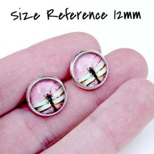 Load image into Gallery viewer, Cat Eye Post Earrings - Jax Allen Designs
