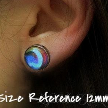 Load image into Gallery viewer, Full Moon Earrings - Jax Allen Designs