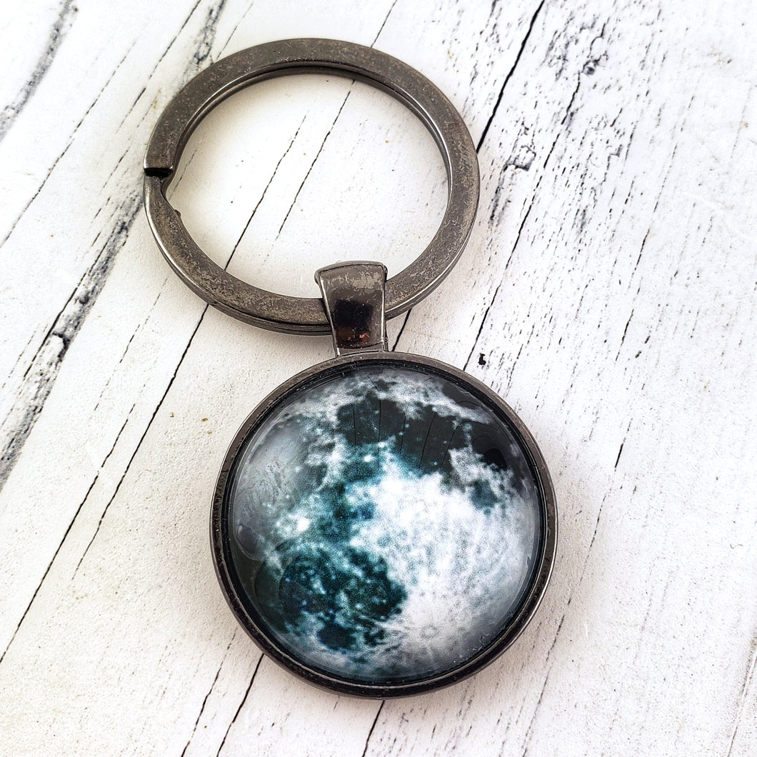 Full Moon Keychain - Jax Allen Designs