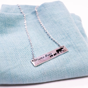 Mama Bear Necklace - Jax Allen Designs