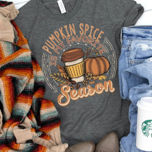 Pumpkin Spice is My Favorite T Shirt - Jax Allen Designs