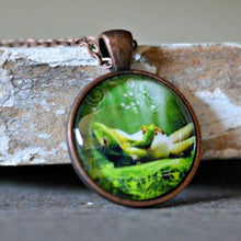 Load image into Gallery viewer, Lazy Frog Pendant Necklace - Jax Allen Designs