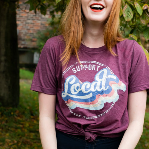 Support Local T Shirt - Jax Allen Designs