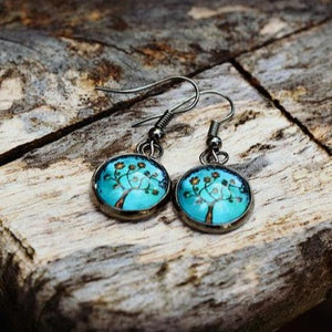 Tree of Life Turquoise Earrings - Jax Allen Designs