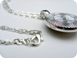 Twin Sister Necklace - Vintage Silver - Jax Allen Designs