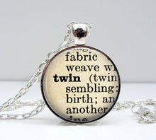 Load image into Gallery viewer, Twin Sister Necklace - Vintage Silver - Jax Allen Designs