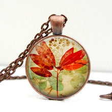 Load image into Gallery viewer, Vintage Inspired Leaf Necklace - Jax Allen Designs